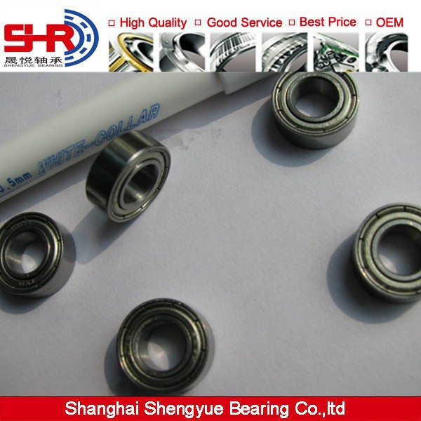 Flanged Miniature Bearings F689/F689ZZ1/VV/DD