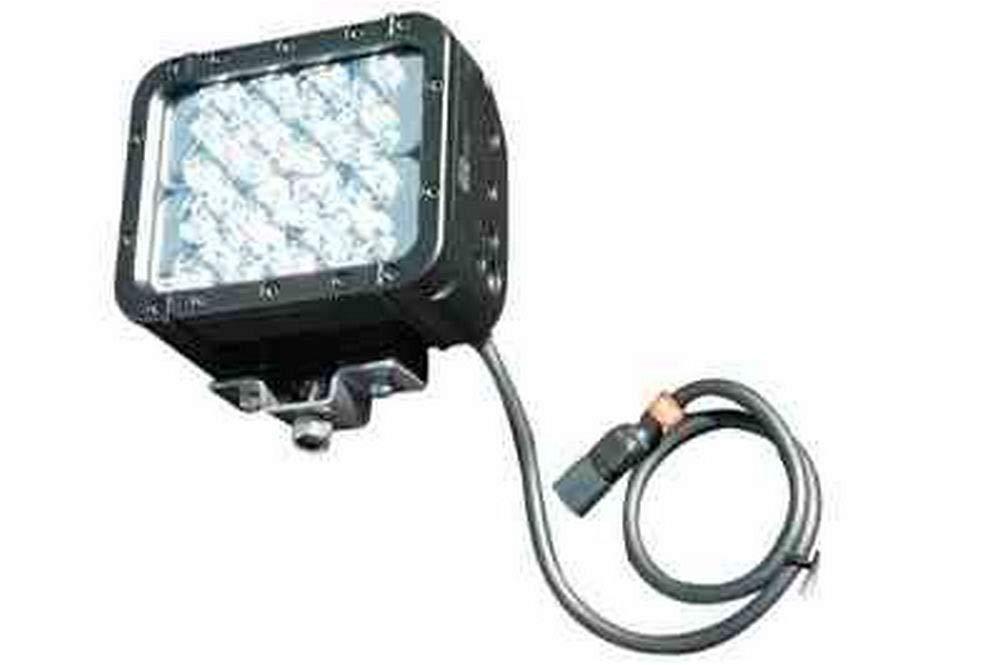 48 Watt Colored LED light emitter - Green & Red Light - 9-42 VDC - 700'L x 80'W Beam - Extreme (-Black-Spot% Flood)