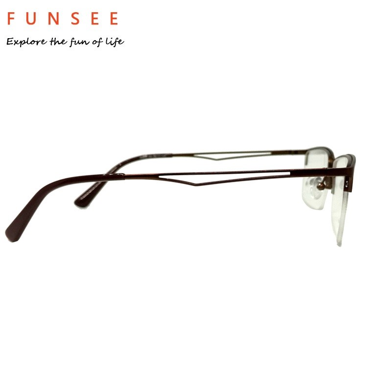 reading glasses half frame rimless titanium louisiana
