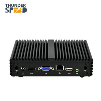 Intel J1900 Barebone Fanless Win10 Mini pc