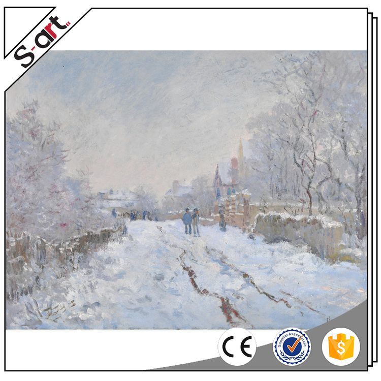 Famous artists competitive claude monet oil painting reproduction