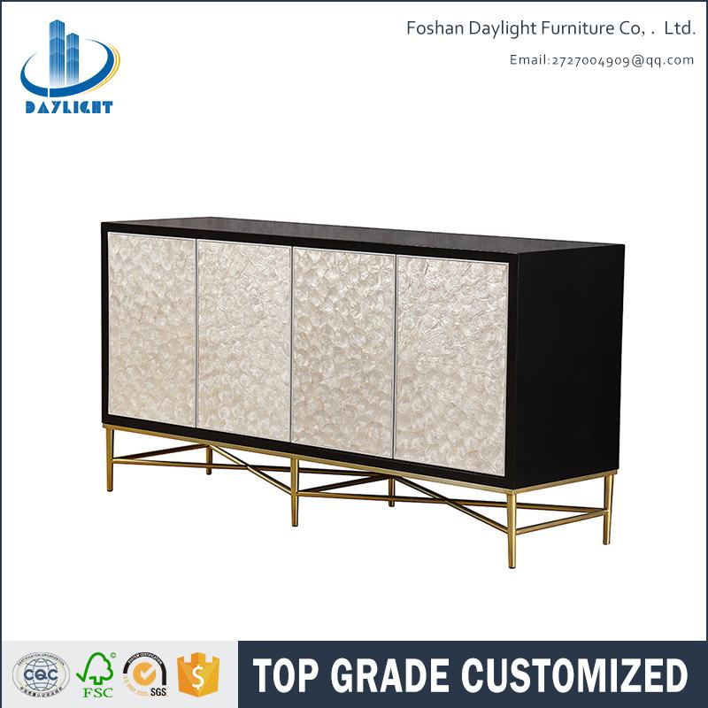 Creative design black shell sideboard buffet