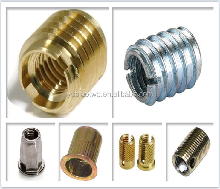 M5,M6,M8 Threaded Insert Stainless Steel Threaded Insert For ...