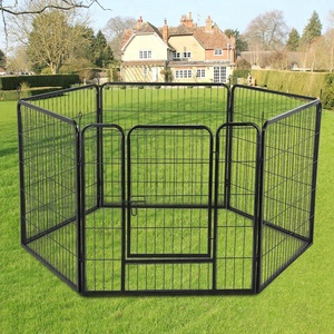 8 pcs cage for dog kennel /dog cage 80 x 80 cm