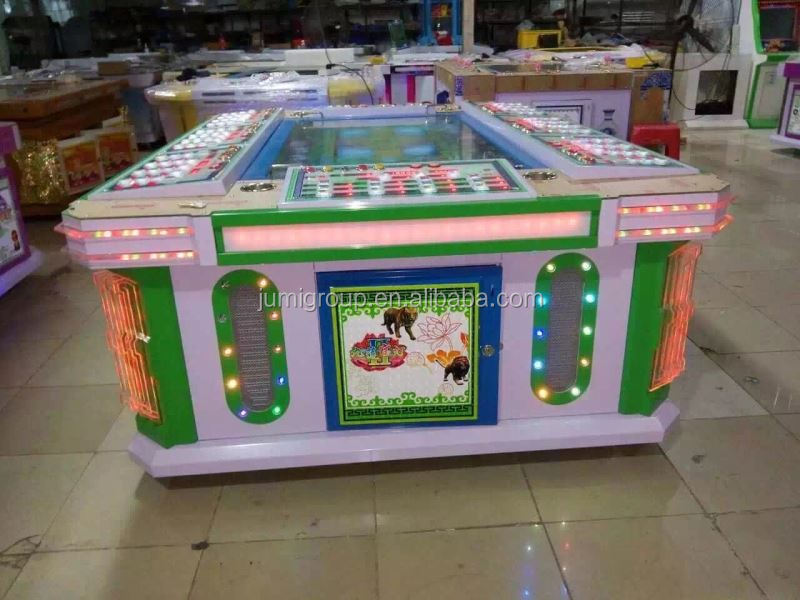Coin operated best sell designer fishing gaming slot machine