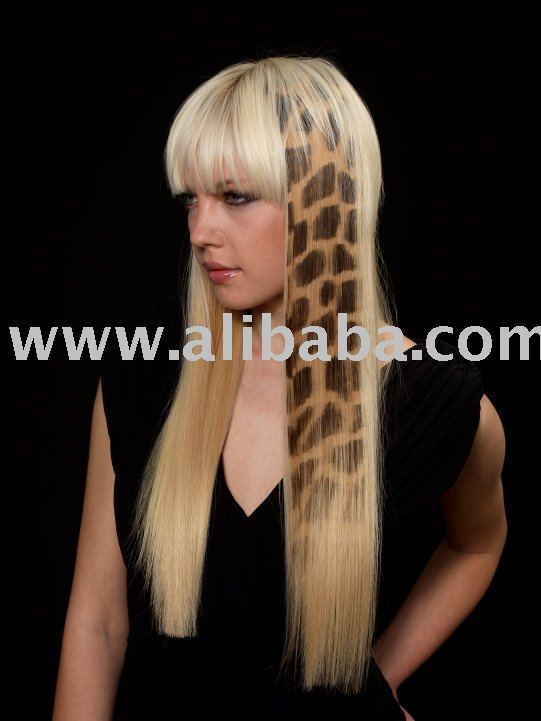 Wild Hair Extensions Hair Tattoo Giraffe Buy Hair Extension