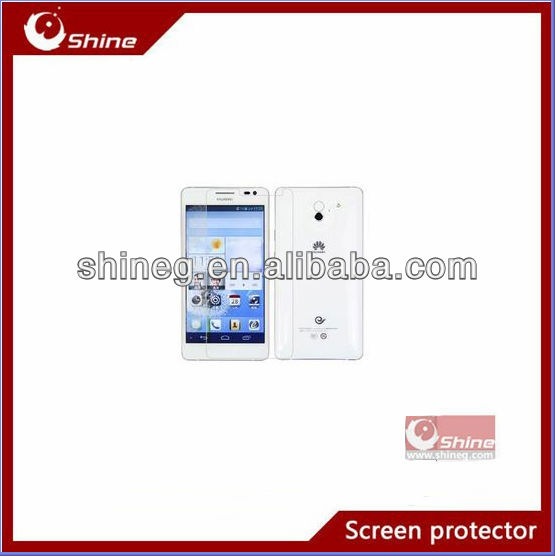 Manufacture price high quality screen protector for Huawi Ascend D2 oem/odm