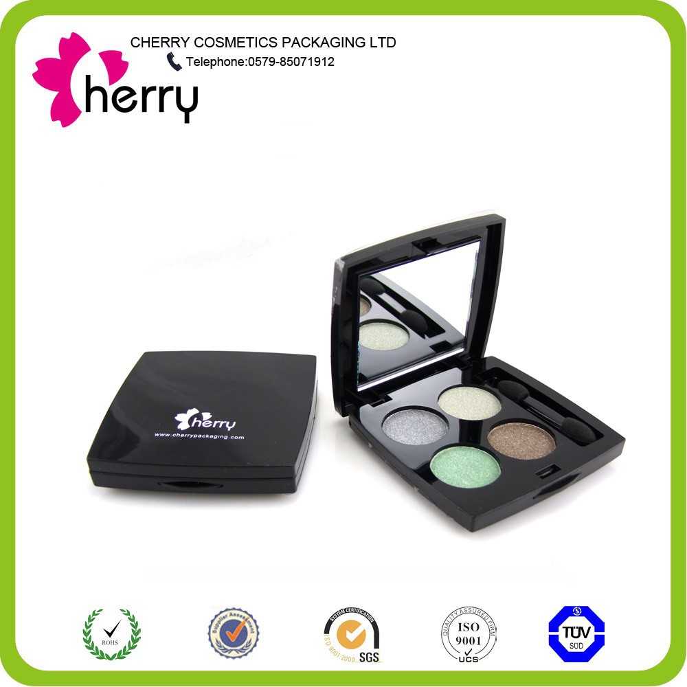 4 Colors wet eyeshadow palette