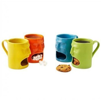 china manufacturer Hot selling coffee cup with cookie holder