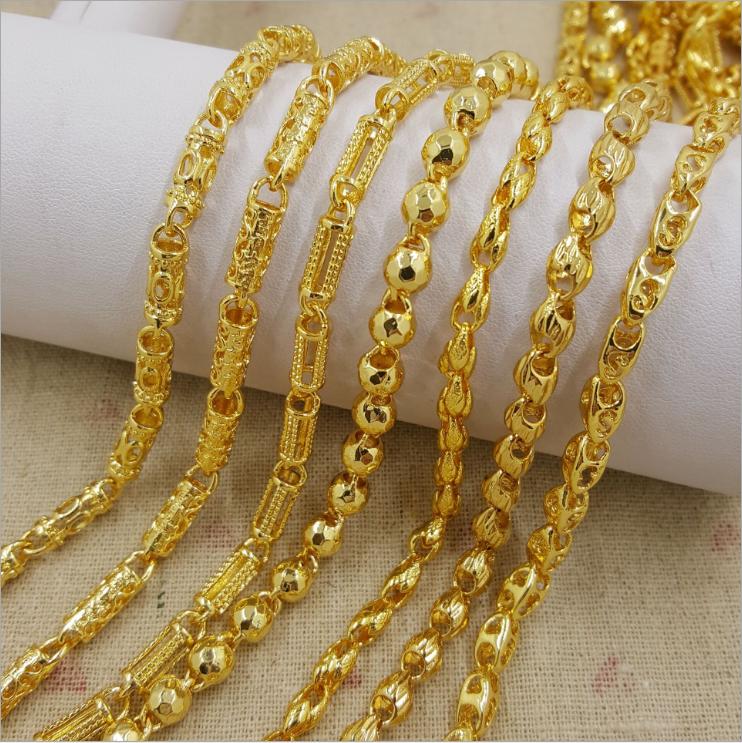 14fc4d358e4e7 Wholesale Dubai New 18k Gold Chain Necklace Design For Men - Buy New Gold  Chain Design For Men,Gold Chain,Gold Necklace Product on Alibaba.com