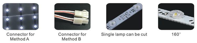 Led תאורה אחורית רצועה/led רצועת תאורה אחורית/led בר תאורה אחורית