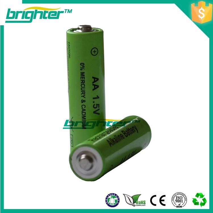 2x1.5v R6 Aa Size Um3 Rechargeable Alkaline Battery With Mini ...