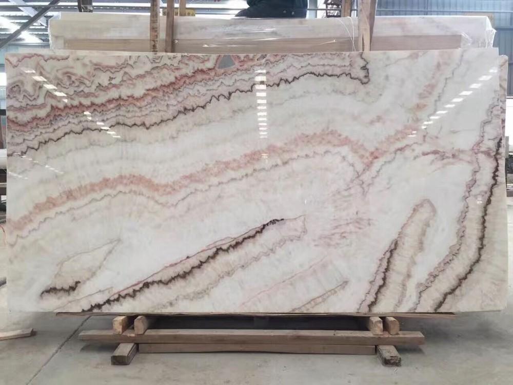Rainbow Onyx Marble : Bookmatch rainbow white onyx marble price buy