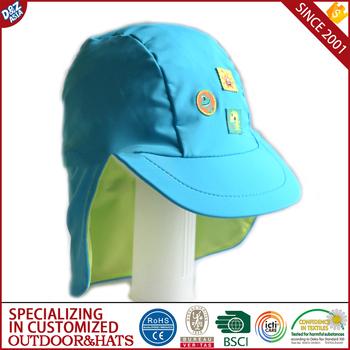 Kids Sun Hat UV Protective Beach Safari Swim Flap Hat Wide Brim visor hat  for kids 8ea00a45606