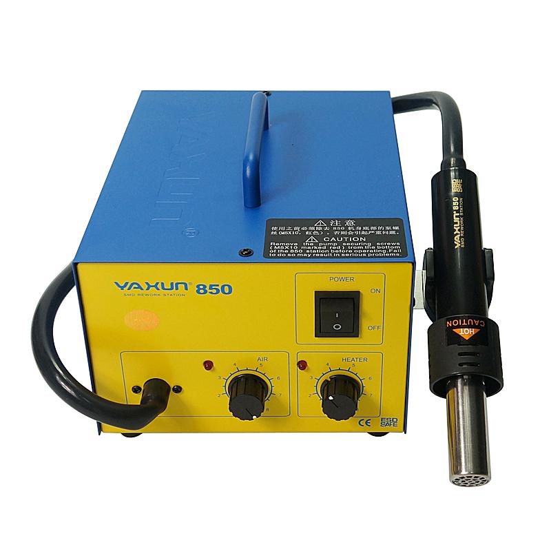 YAXUN YX-850 Hot air gun Soldering station Hot air desoldering station 220V 110V
