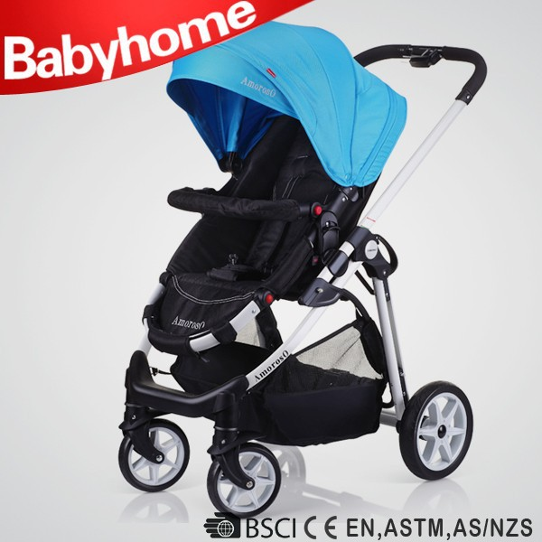 One hand fold baby push chair