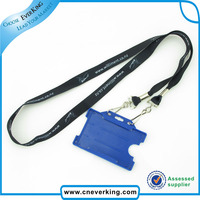 Key Lanyard Brand LOGO Sport ID badge Holders Sport neck strap keychains