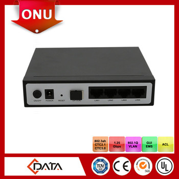 Telecommunication equipments MDU Type EPON ONU