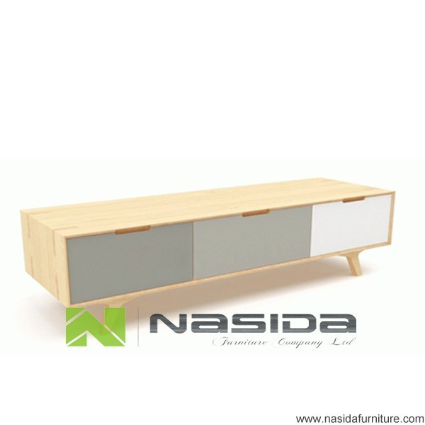 ND579 The 3 drawer TV cabinet in living room