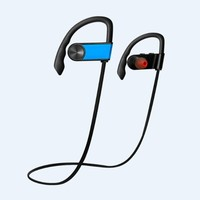 CSR V4.0 wireless sport in-ear headset bluetooth headphones pair 2 devices