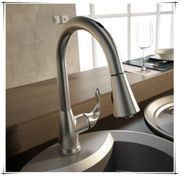 Zinc Main Material Wave On/off And Manual Dual Activation Hot/cold Kitchen  Sink