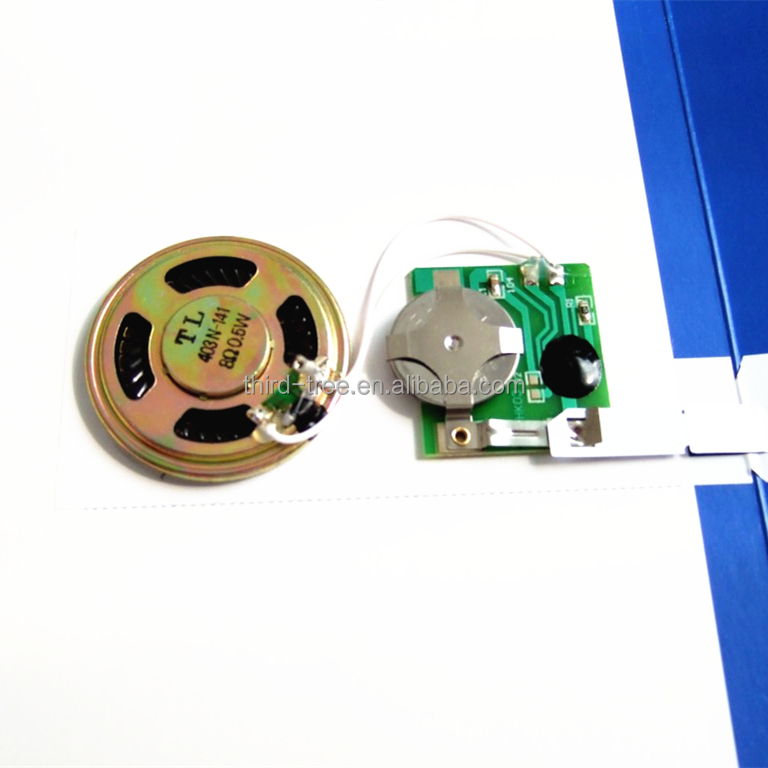 recordable sound module for greeting cards, recordable sound, Greeting card