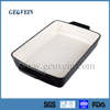 Cast iron rectangle roaster dish