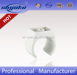 Manufacturer Good quality PVC BSPT THREAD PIPE FITTINGS, PVC Clip PLASTIC PIPE FITTINGS