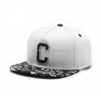 13414a96 Wholesale Custom High Quality 3D Letter Embroidery Printing Flat Brim  Snapback Cap