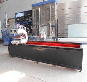 PVC Windows Frame Two Head Welding Machine