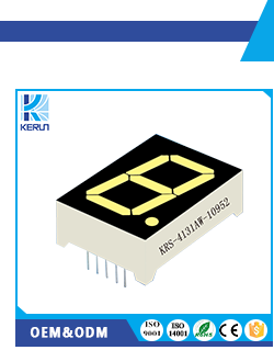 2 digit 7 segment led display
