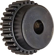 Martin Spur Gear, 14.5 Pressure Angle, High Carbon Steel, Inch, 16