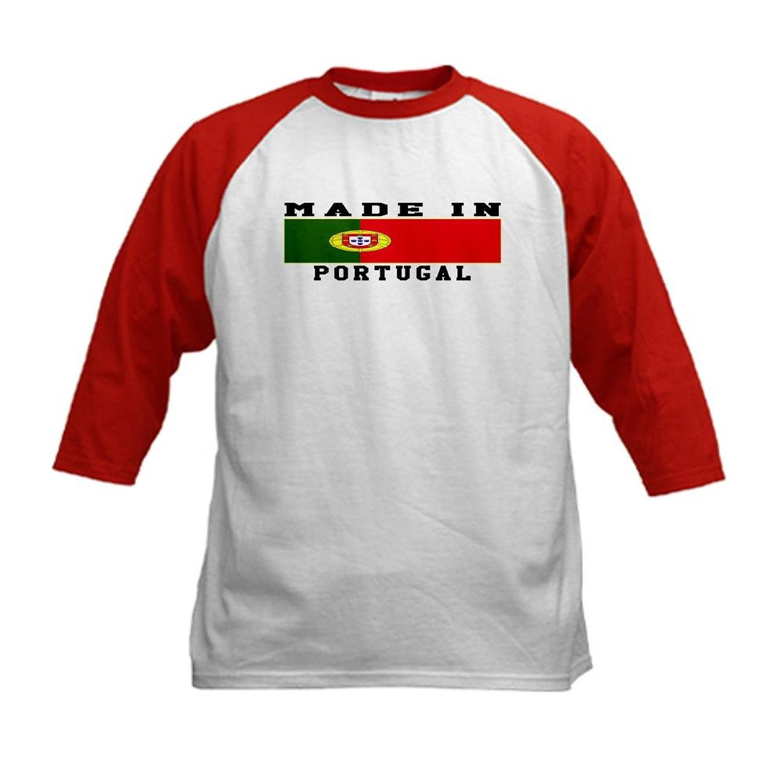 0cd97d2a1c4 Get Quotations · CafePress Kids Baseball Jersey - Portugal Made In Kids  Baseball Jersey