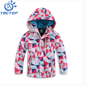 Outdoor Casual Jacket for Children Autumn Softshell Windbreaker