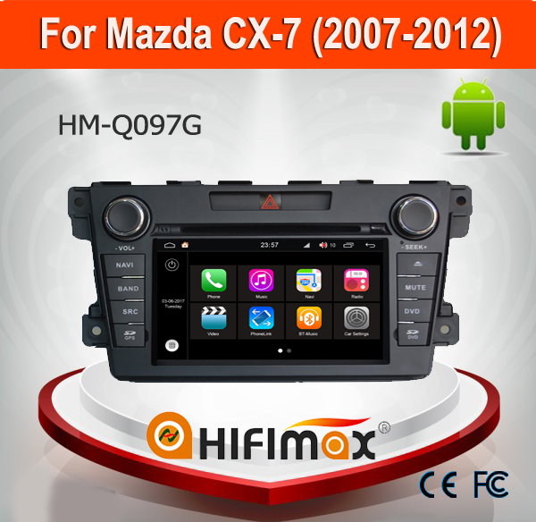 Hifimax Andriod 7.1 Rversing Camera For Mazda CX-7 (2009-2011) Support Bose System with mazda cx-7 navigation sd card