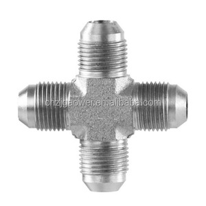 3/8 Male Flare stainless steel Tube Union Cross