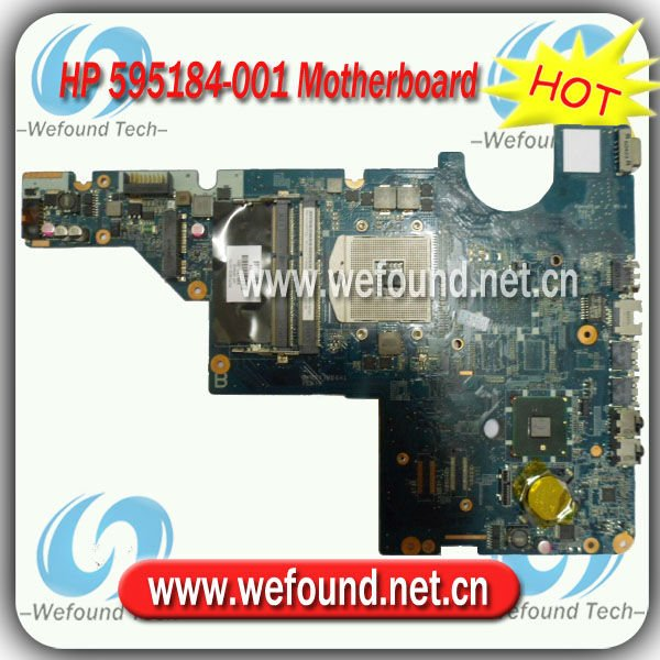 595184-001,Laptop Motherboard for HP G42, G62, Compaq Presario CQ42, CQ62 Series ,Mainboard,System Board
