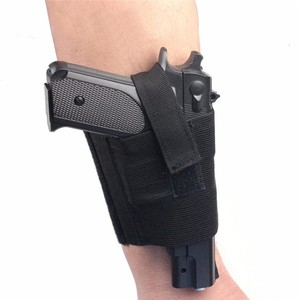 Concealed Carry Universal Pistol Ankle Holster Right Left Leg Strap Gun Padded Pouch Outdoor Tactical Gear