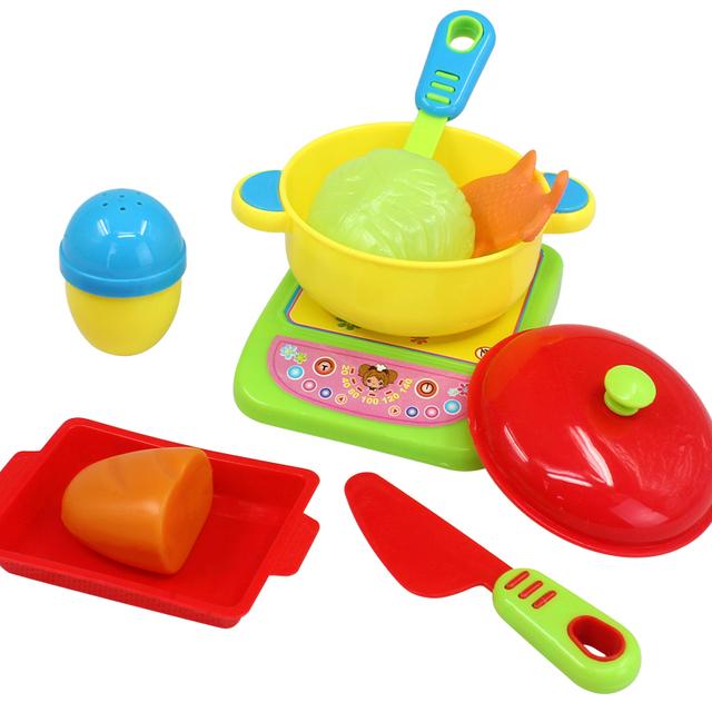 Plastic Toy Kitchen Food
