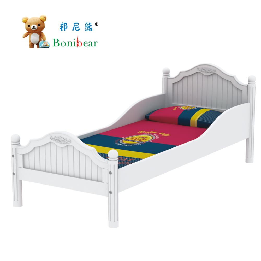 Nursery Furniture Kids Wood Single Bed
