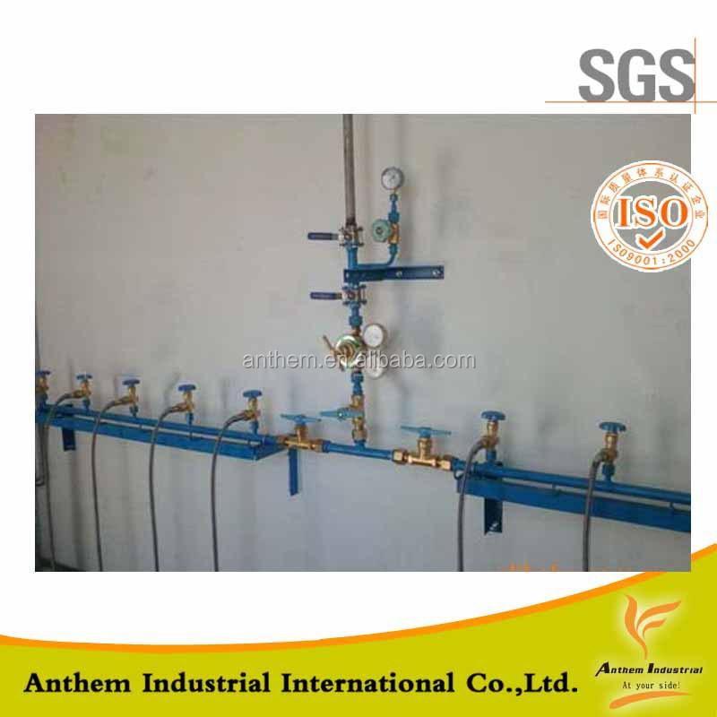 Gas line manifold hospital system