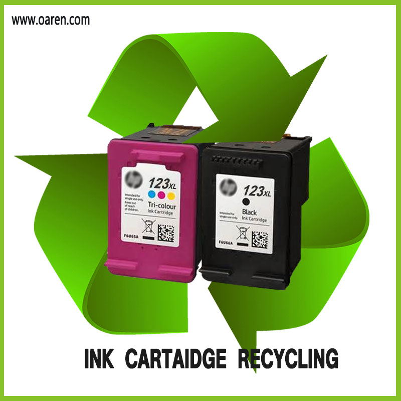 Hot Sale toToner Cartridge Inkjet Cartridge for hp 123XL Black