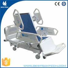China BT-AE029 8 Function linak electric hospital patient ICU bed, intensive care bed, home care bed with chair position