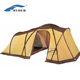 4 Season 5 Person Outdoor Luxury Large Tunnel Camping Family Tent for Sale