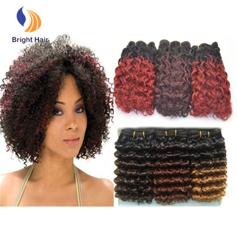 Wholesale synthetic hair extensions short jerry curl hairstyles for black  women 549c690304c3