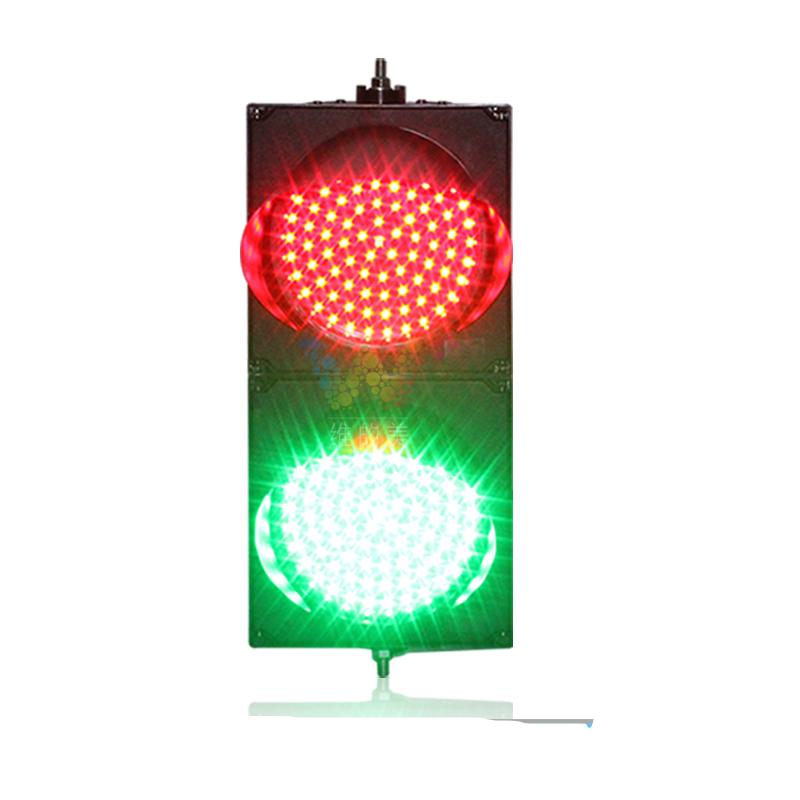 200มิลลิเมตรPCสีแดงสีเขียวไฟจราจรสำหรับการก่อสร้างถนน