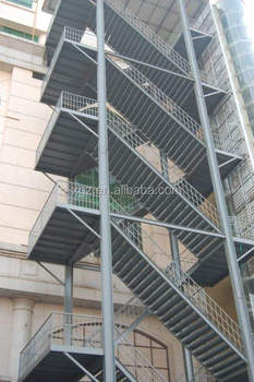 Prefabricated Metal Stair For Warehouseu0026apartmentu0026Residential Building