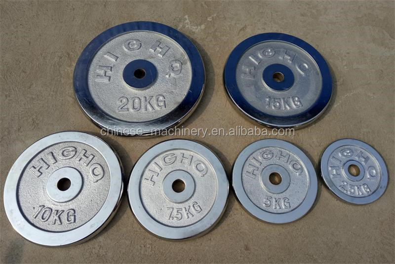 China Foundry Best Price Custom Service High Quality Cast Iron Barbell Weight Plate
