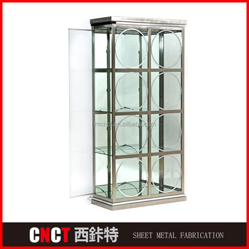 High Quality Sheet Metal Oem Refrigerated Liquor Cabinet - Buy ...