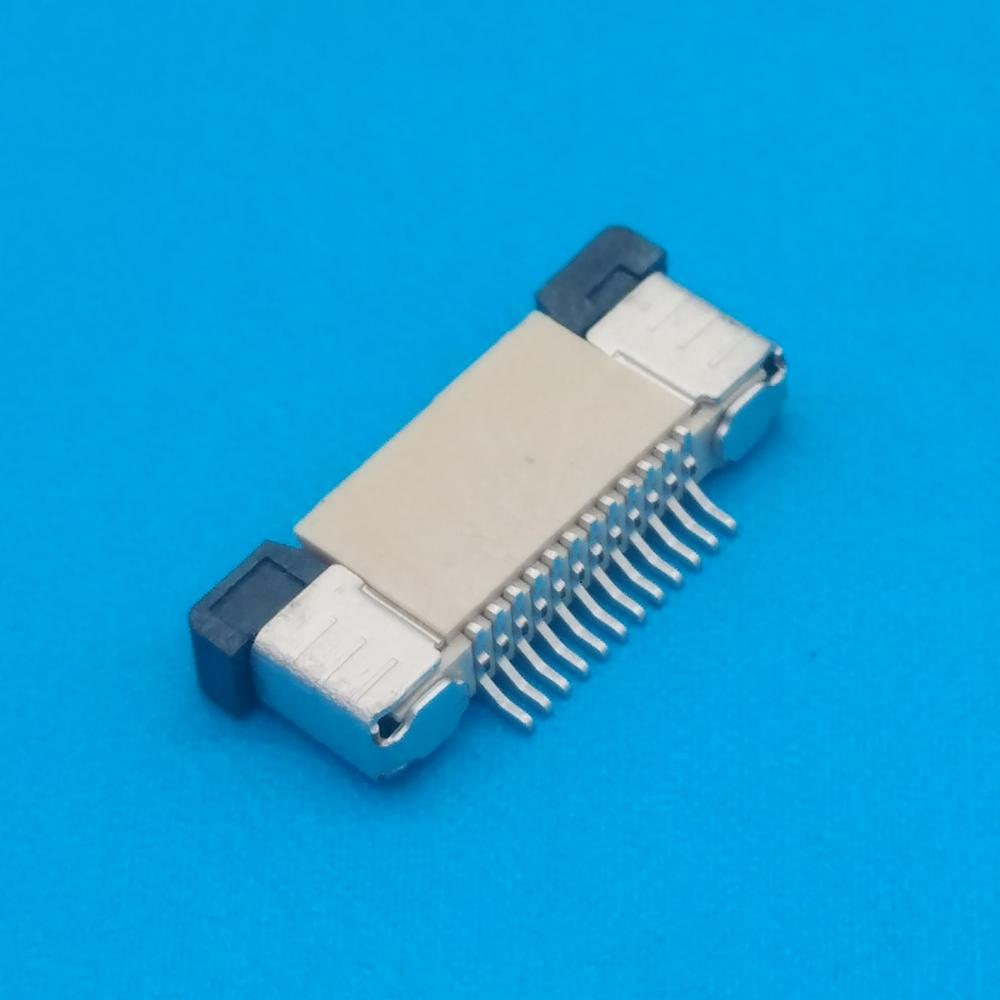 Horizontal FPC Angle of 90 degrees 0.5mm pitch The above contact FFC/FPC connector